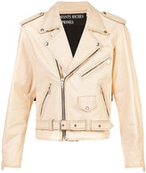 Enfants Riches Deprimes belted biker jacket