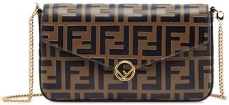 Fendi small FF motif cross body bag