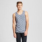 Mossimo Men's Americana Retro Tank Top Gray