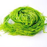 150g Dyed Raffia Bundle - Light Green in bag for Gift Wrapping, Floristry, Floral, Flowers, Bouquets, Hampers, Decoration, Arts & Crafts by Smithers Oasis