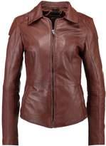 Maze LUCY Leather jacket cognac