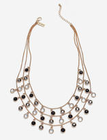The Limited Sparkling Tiered Drop Necklace