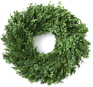 "Knud Nielsen Company 24"" Boxwood Wreath - Preserved"