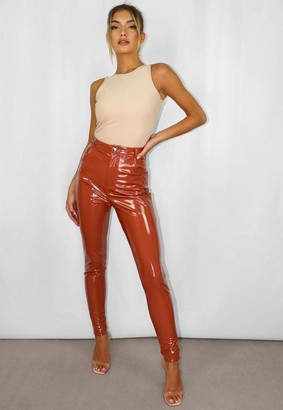 Missguided Vinyl Trousers