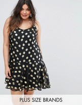 Alice & You Cami Dress with Metallic Polka Dot