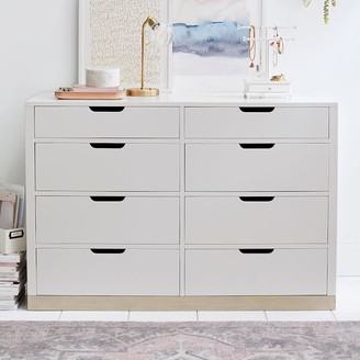 Pottery Barn Teen Rhys 8-Drawer Wide Dresser