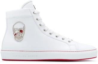 Philipp Plein Skull hi-top sneakers