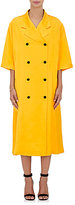Victoria Beckham Women's Satin Trench Coat-YELLOW