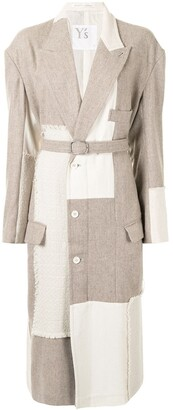 Y's Two-Tone Panelled Jacket