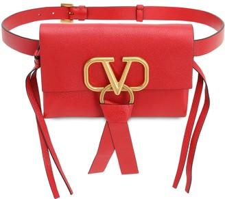 Valentino V RING SMOOTH LEATHER BELT BAG