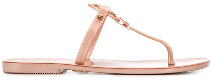 Tory Burch slip-on logo sandals