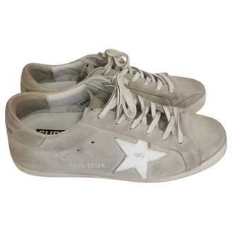 superstar grey suede