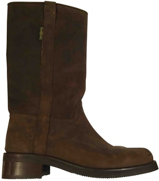 Russell & Bromley Brown Suede Boots