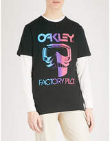 Oakley Thermonuclear Factory Pilot Cotton-jersey T-shirt
