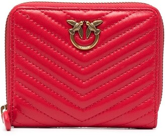 Pinko Taylor quilted wallet