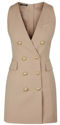 Balmain Short woollen dress