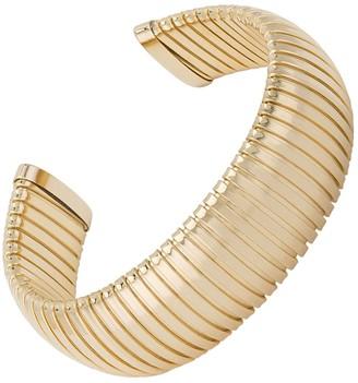 Janis Savitt Open Large Yellow Gold Cobra Cuff Bracelet