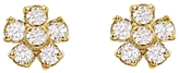 Jennifer Meyer Diamond Flower Stud Earrings
