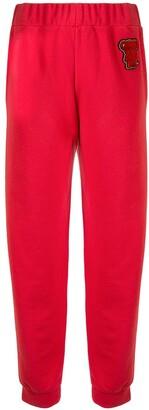 Emporio Armani Bear Patch Track Pants