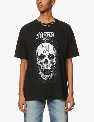 Mjb   Marc Jacques Burton Festival Skull graphic-print cotton-jersey T-shirt