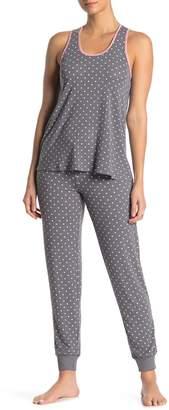 PJ Salvage Banded Bottom Star Print Pajama Pant