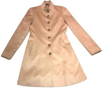 Harrods Beige Cashmere Coat for Women