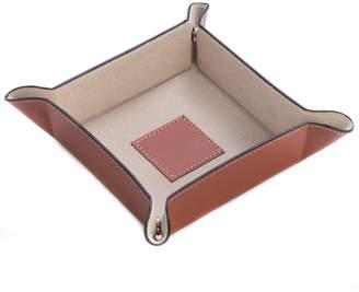 Bey-Berk Leather Snap Valet