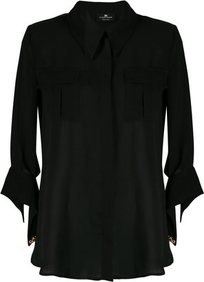 Elisabetta Franchi Chest Pocket Shirt