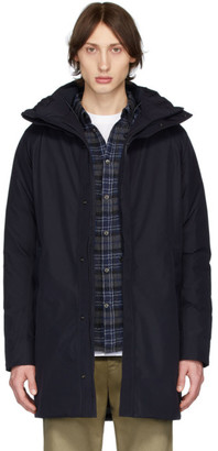 Norse Projects Navy Down Gore-Tex Rokkvi 5.0 Jacket