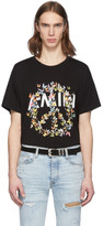 Amiri Black Peace Butterfly T-Shirt