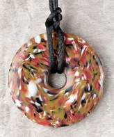 Teething Bling Donut Pendant - Brown