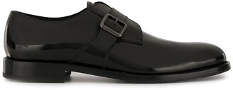 Tod's buckle detail Derby shoes