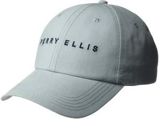 Perry Ellis Men's Logo Baseball Cap