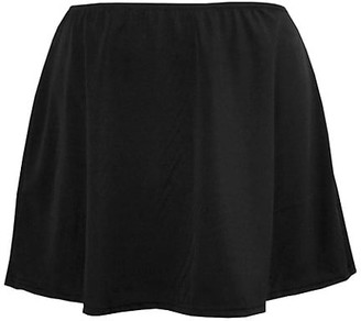 Miraclesuit Swim, Plus Size Solid Skirted Swim Bottom