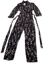 MANGO Navy Jumpsuit for Women