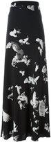 A.F.Vandevorst floral print skirt - women - Silk/Lyocell - 34