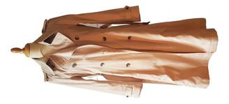 Comptoir des Cotonniers Beige Cotton Coats