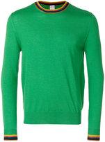 Paul Smith stripy detail sweater