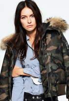 SAM. Camo Jenny Bomber Jacket
