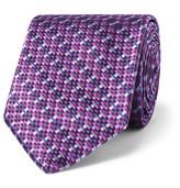 Sulka 9cm Silk-Jacquard Tie