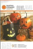 Martha Stewart Crafts - Halloween Faces Adhesive Stencils 9 Designs