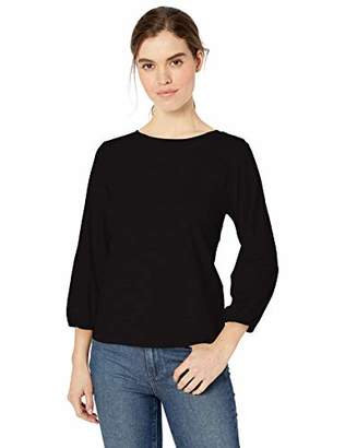 Daily Ritual Lightweight Lived-in Cotton Puff-sleeve T-shirtUS S (EU S - M)