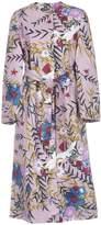 Semi-Couture Erika Cavallini Floral Coat