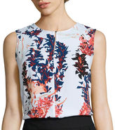 Liz Claiborne Sleeveless Blouse - Tall