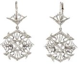Doris Panos 18K Diamond Drop Earrings