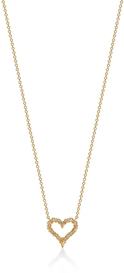Thumbnail for your product : Tiffany & Co. HeartsTM pendant of diamonds in 18k gold, small