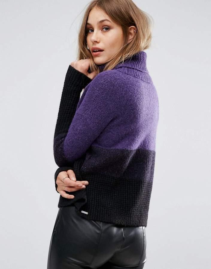 BOSS ORANGE By Hugo Boss Ilke Roll Neck Sweater