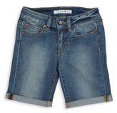 Joe's Jeans Girl's Rolled-Cuff Denim Bermuda Shorts