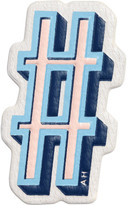 Anya Hindmarch Hashtag Stickers Symbol