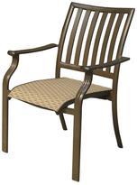 Panama Jack Outdoor Island Breeze Stackable Sling Arm Chair